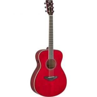 FS-TA TransAcoustic Guitar In Raspberry Red Finish