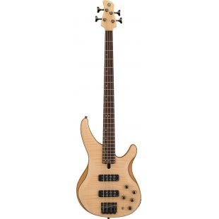 TRBX604FM 4-String Electric Bass Guitar In Natural Satin Finish
