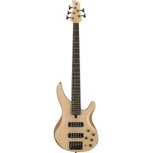 TRBX605FM 5-String Electric Bass Guitar In Natural Satin Finish