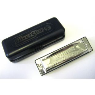 Silver Star Harmonica in C Major