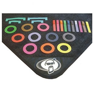Coloured Drum Mat Markers