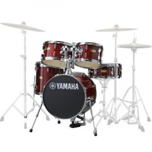JK6F5 Manu Katché Junior Drum Shell Kit in Cranberry Red Finish