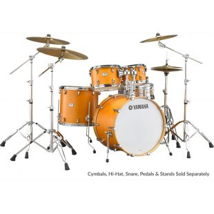 "Tour Custom Drum Shell Set with 22"" Kick Drum in Caramel Satin finish"