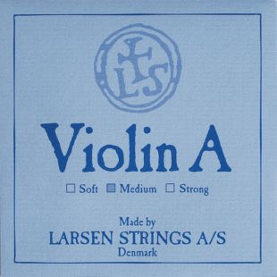 Original 'A' String For Violin, Medium Tension, Ball End with Fibre Core