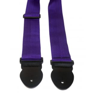 "2"" Purple Webbing Guitar Strap"