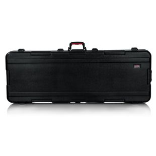 Molded 76-note Keyboard Case With Wheels