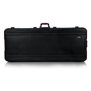 Deep 76-note Keyboard Case With Wheels
