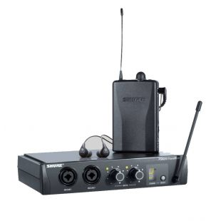 P2TR112GR Personal In-Ear Monitor System with PSM200 Receiver, P2R Transmixer & SE112 Earphones