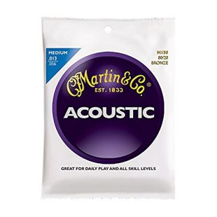 M150 Acoustic Guitar Strings, Medium 80/20 Bronze