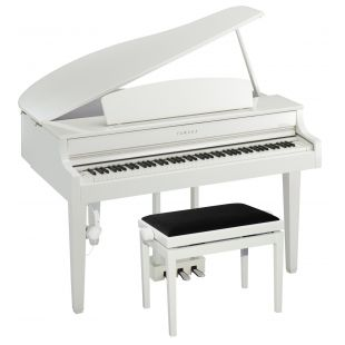 CLP-665 Deluxe Clavinova Digital Grand Piano Pack