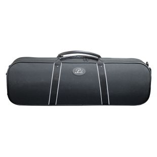 9100 Aluminium Strengthened Black Violin Case