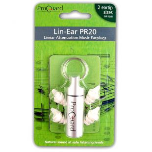PR20 Lin-Ear Earplugs
