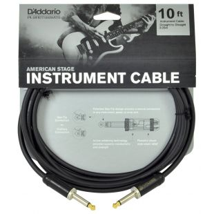 Instrument Cable - 10 feet -  (Mono Jack to Mono Jack)