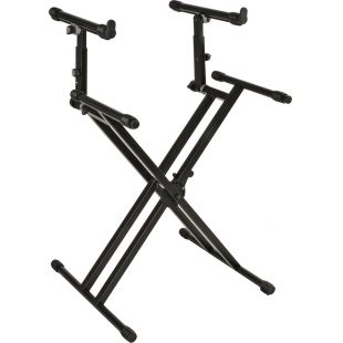 QL-742 Heavy Duty, Double Braced Keyboard Stand
