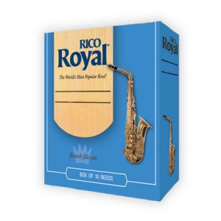 Royal Size 2½ Reeds for Alto Saxophone - Box of 10