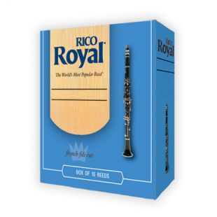 Royal RCB1025 Size 2½ Reeds for Bb Clarinet - Box of 10
