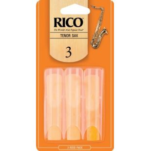 RKA0330 Orange Tenor Sax Reeds 3.0 - 3 Pack