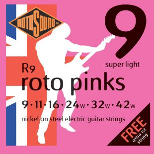 Pinks Super-Light Electric Guitar Strings