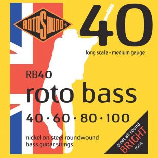 Rotobass RB40 Bass Guitar Strings