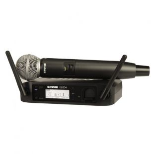 GLXD24UK/SM58 Digital Wireless Vocal Mic System