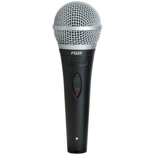 PG58 Vocal Dynamic Microphone with XLR to Jack Cable