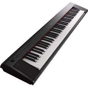 NP-32 Piaggero Home Keyboard, In Black Finish