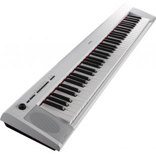 NP-32WH Piaggero Home Keyboard - White finish