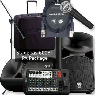 Stagepas 600 Portable PA Package