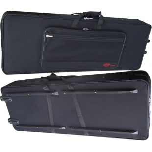 KTC128 Soft keyboard case on wheels