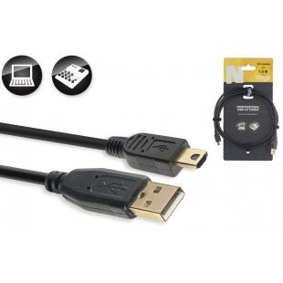 NCC1,5UAUNA - USB-A to USB-A Mini USB 2.0 Cable
