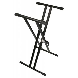 KS2 Foldable Double-Braced Keyboard 'X' Stand