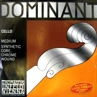 Dominant C (4th) String for Three Quarter (3/4) and Full (4/4) Size Cello