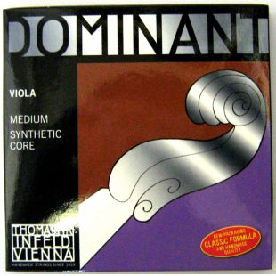Dominant String Set for Viola