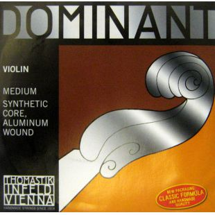 130 Dominant E (1st) String for Three Quarter (¾) and Full (4/4) Size Violin