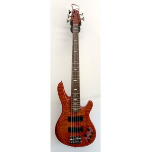 Ex-Showroom TRB-1005J 5-string bass guitar in Caramel Brown