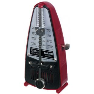 1628B Taktell Piccolo Metronome in Ruby-Red