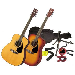 Beginner Acoustic Guitar Pack (including Yamaha F310 Acoustic Guitar)
