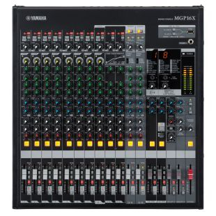 MGP16X 16 Channel Professional Analogue Mixer