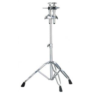 WS865A Double Tom Tom Stand with Double-braced legs