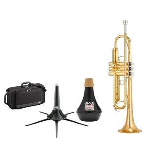 Yamaha YTR-4335GII Bb Trumpet Package