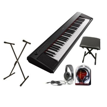 Yamaha PSR-E453 Complete Home Keyboard Package Includes PSR