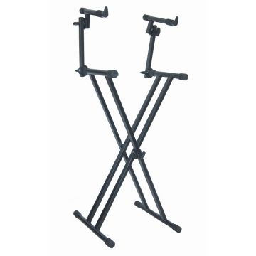 quiklok ws 650 heavy duty multi function t stand suitable for keyboards cabinet speakers or. Black Bedroom Furniture Sets. Home Design Ideas
