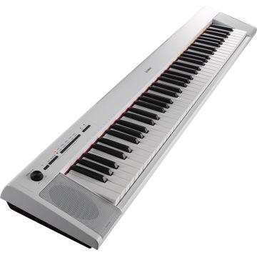 Yamaha NP-12 Piaggero Slimline Home Keyboard In Black Finish