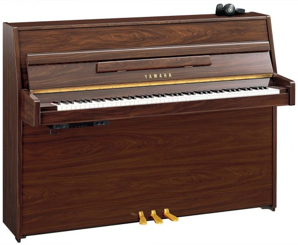 yamaha b1 sg2 silent piano in polished walnut finish with. Black Bedroom Furniture Sets. Home Design Ideas
