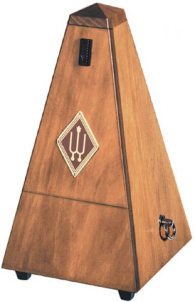 1625P Pyramid Metronome in Walnut Casing