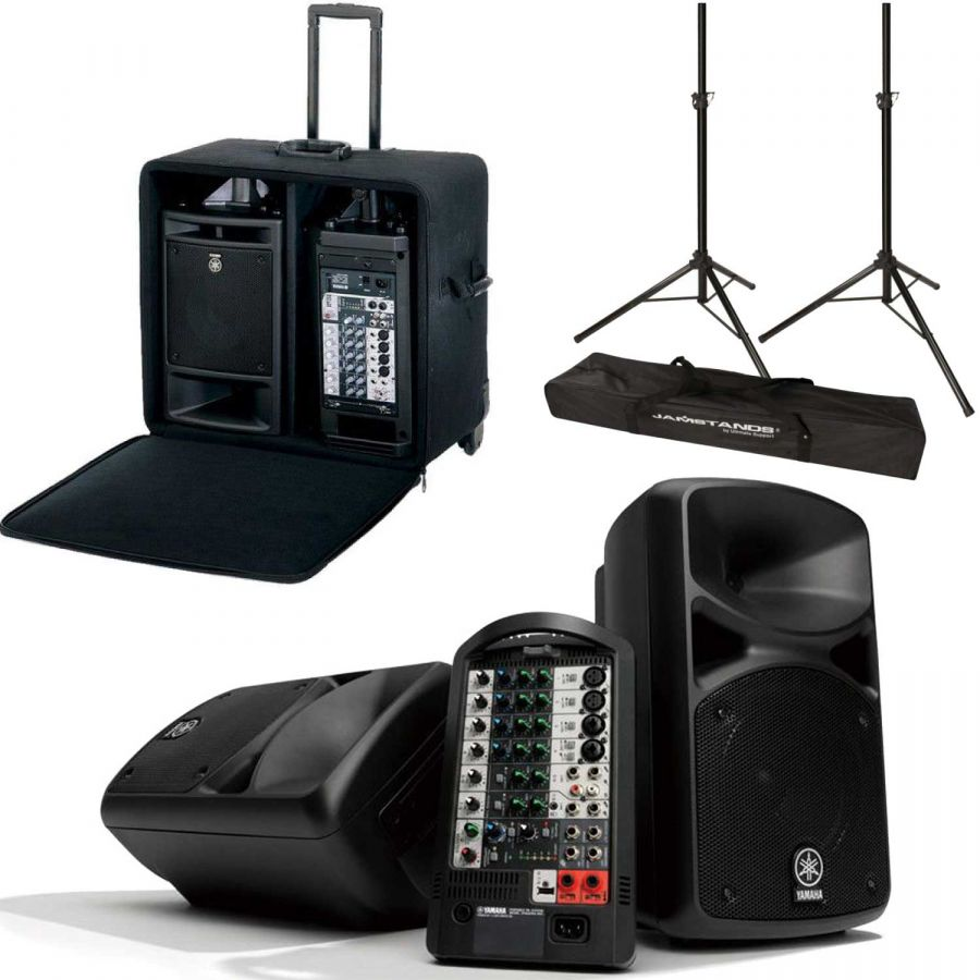 Yamaha Stagepas 400 Portable Pa System Package With