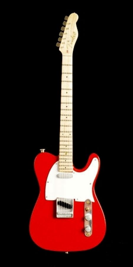 Telecaster Model in Red