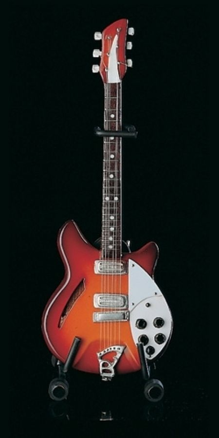 Rickenbacker Model in Sunburst