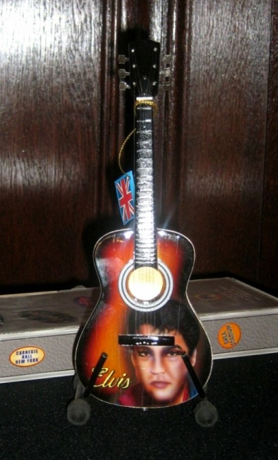 Elvis Presley Sunburst Acoustic Model