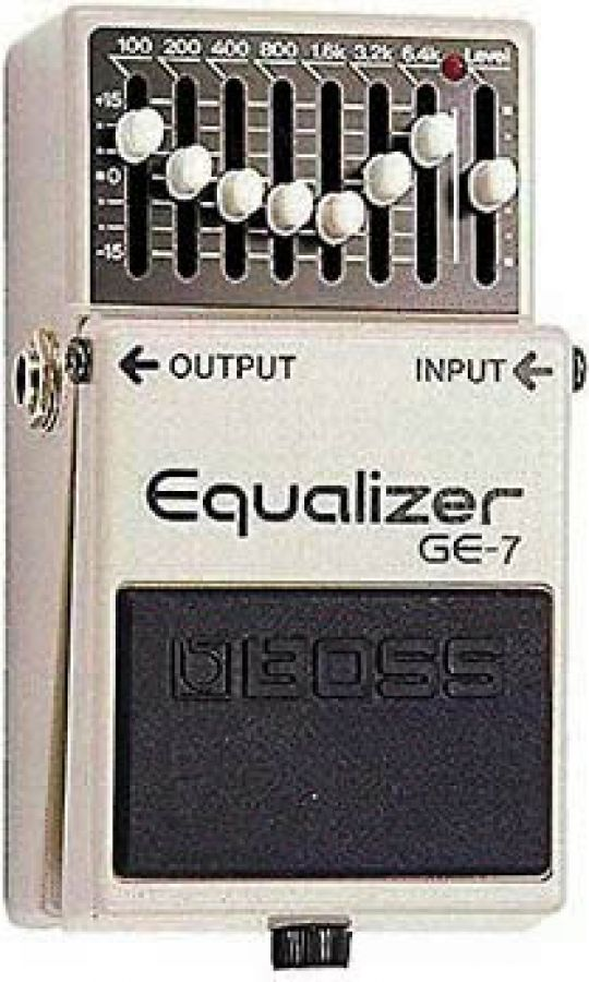 GE-7 Graphic Equalizer Effect Pedal